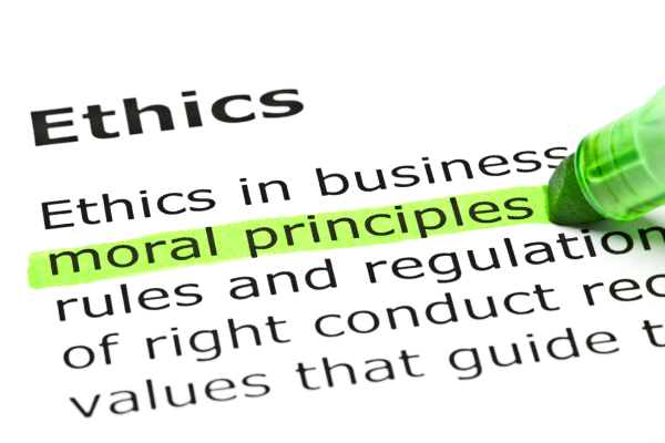 Professional ethics – The key to success during the recession