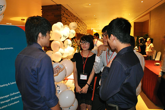 trg networking event intercontinental