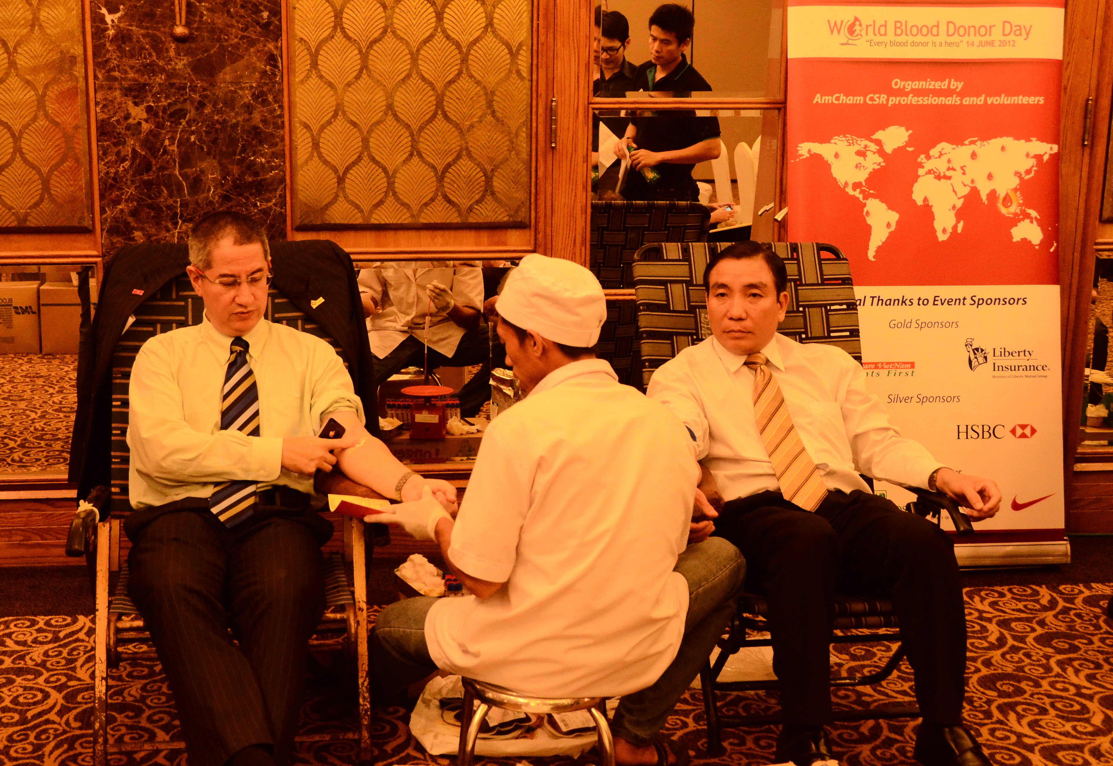 TRG International joins AmCham World Blood Donor Day