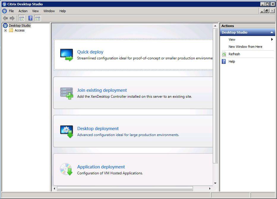 citrix desktop virtualisation