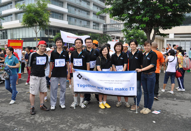 TRG International joined BBGV's 12th annual Fun Run for charity