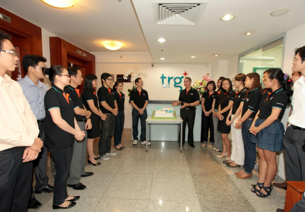 TRG's official launch of new brand marks 18-year journey