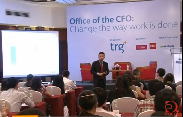 """First """"Office of The CFO"""" Seminar in Hanoi Broadcast on Television"""