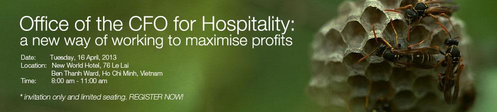 Challenge for hospitality CFOs: how to maximise profits?