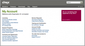 New web sites launch for Citrix customers and partners – replacing My Citrix