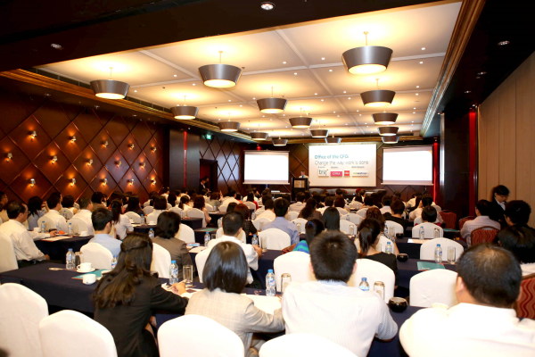 TRG introduced the Office of the CFO concept for the 1st time at seminar