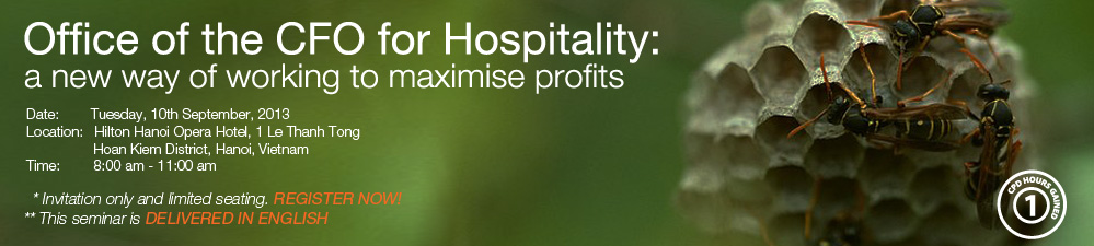 TRG to introduce new ways to maximise profits to the Hospitality industry in Hanoi