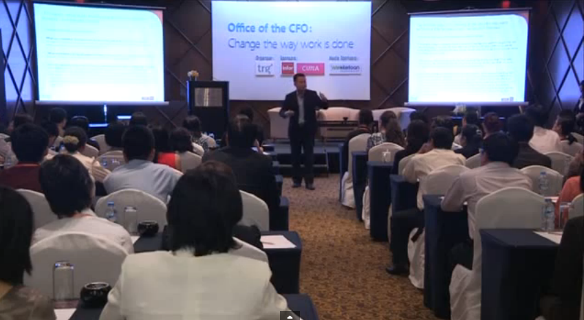 TRG's Office of the CFO seminar is on FBNC