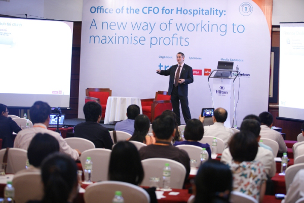 Another seminar 'Office of the CFOs for Hospitality' had ended successfully in Hanoi
