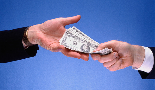 Professional ethics: Working cash in hand