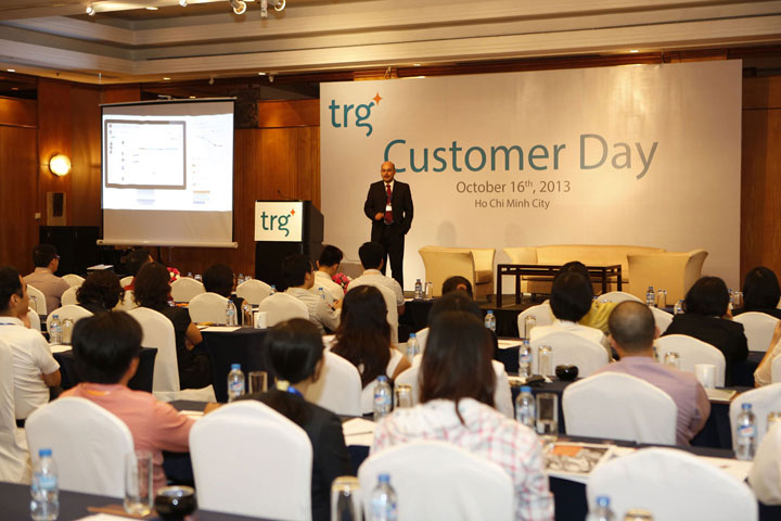 TRG Customer Day 2013 had ended successfully