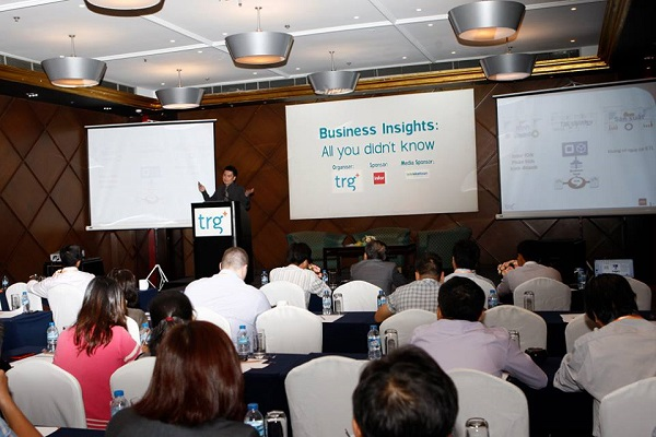 The first TRG's Business Intelligence event promised new values to businesses in Vietnam