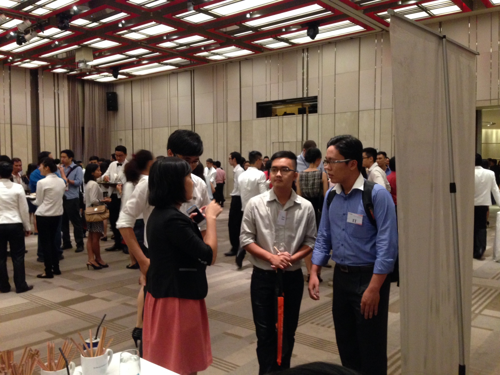 TRG at RMIT career networking event