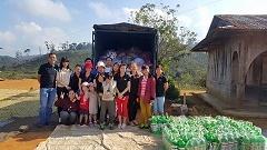 Nhân viên TRG trong chuyến đi từ thiện tại Đưng Knoh - Ngày 15/01/2016