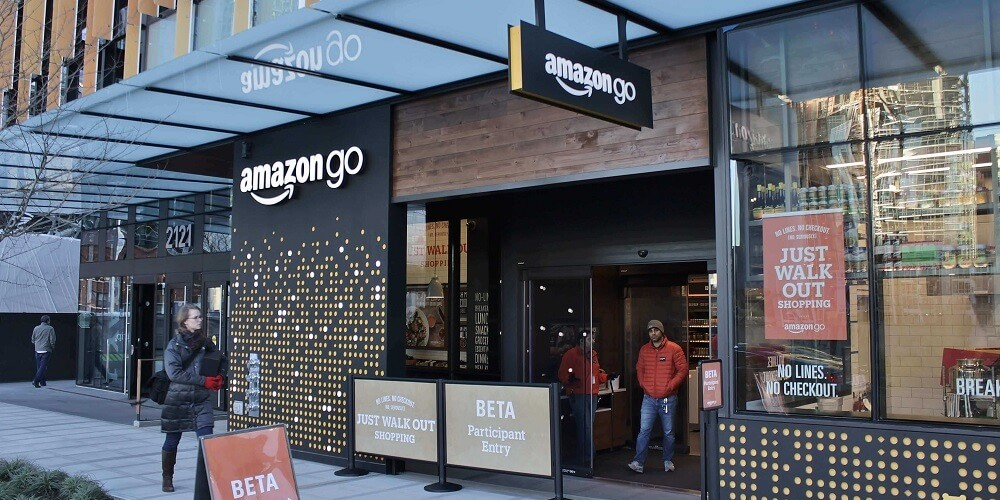An Amazon Go store in Seattle