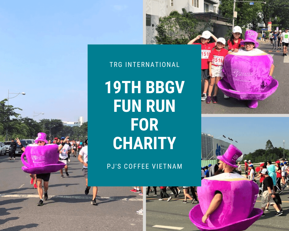 TRG and PJ's Coffee Vietnam at the 19th BBGV Fun Run for Charity