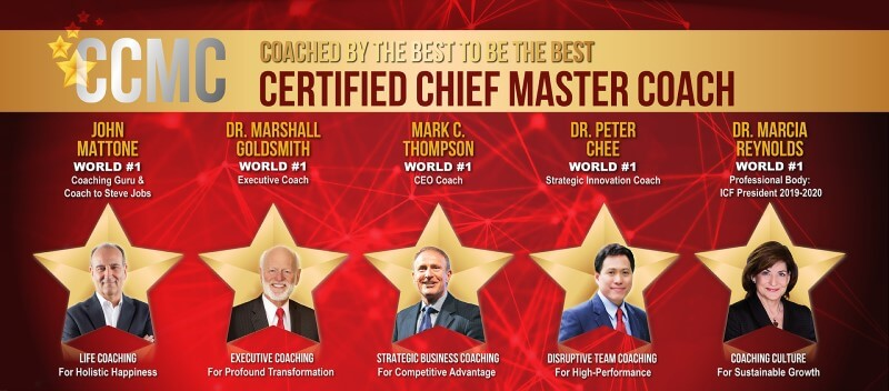 Certified Chief Master Coach (CCMC)