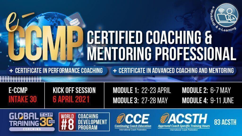 Certified Coaching & Mentoring Professional (eCCMP)
