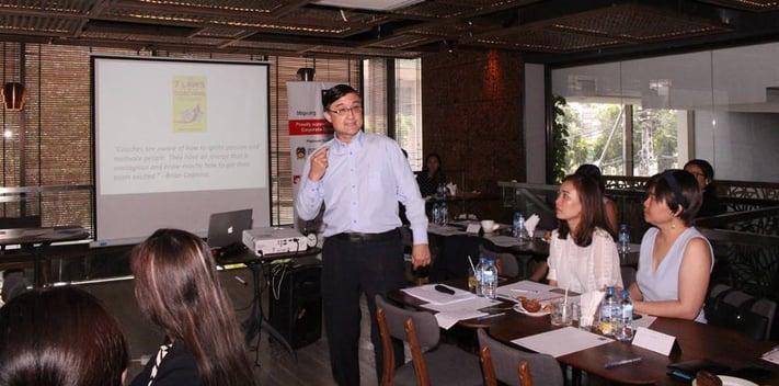 BBGV Breakfast Seminar – Motivation Spotlight. The speaker: Victor Burrill (Executive Coach, Corporate Trainer, Consultant)
