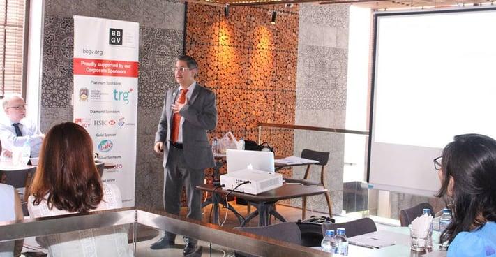 BBGV Breakfast Seminar – Motivation Spotlight. The speaker: Rick Yvanovich (CEO of TRG International)