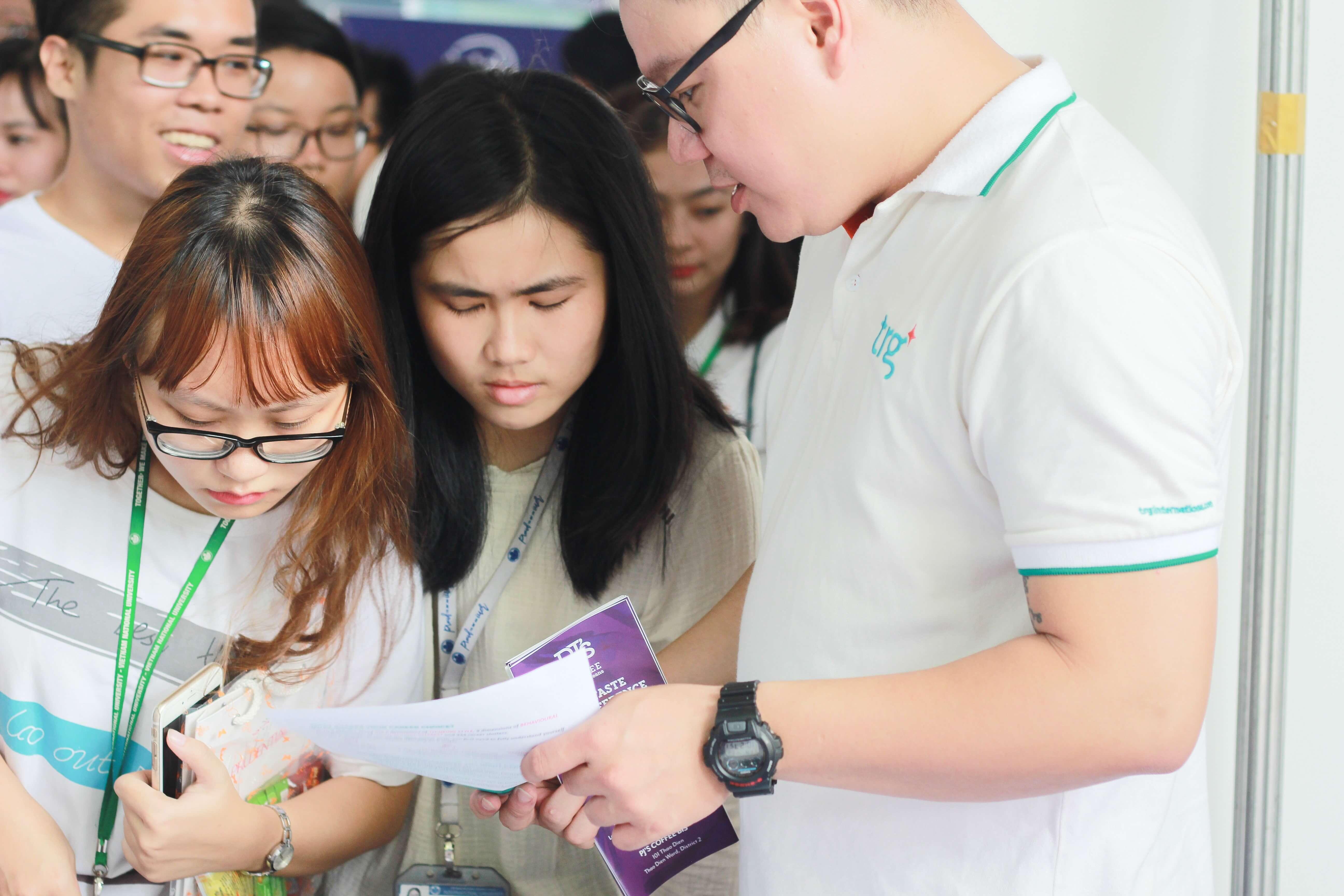 TRG at IU Job Fair 2018