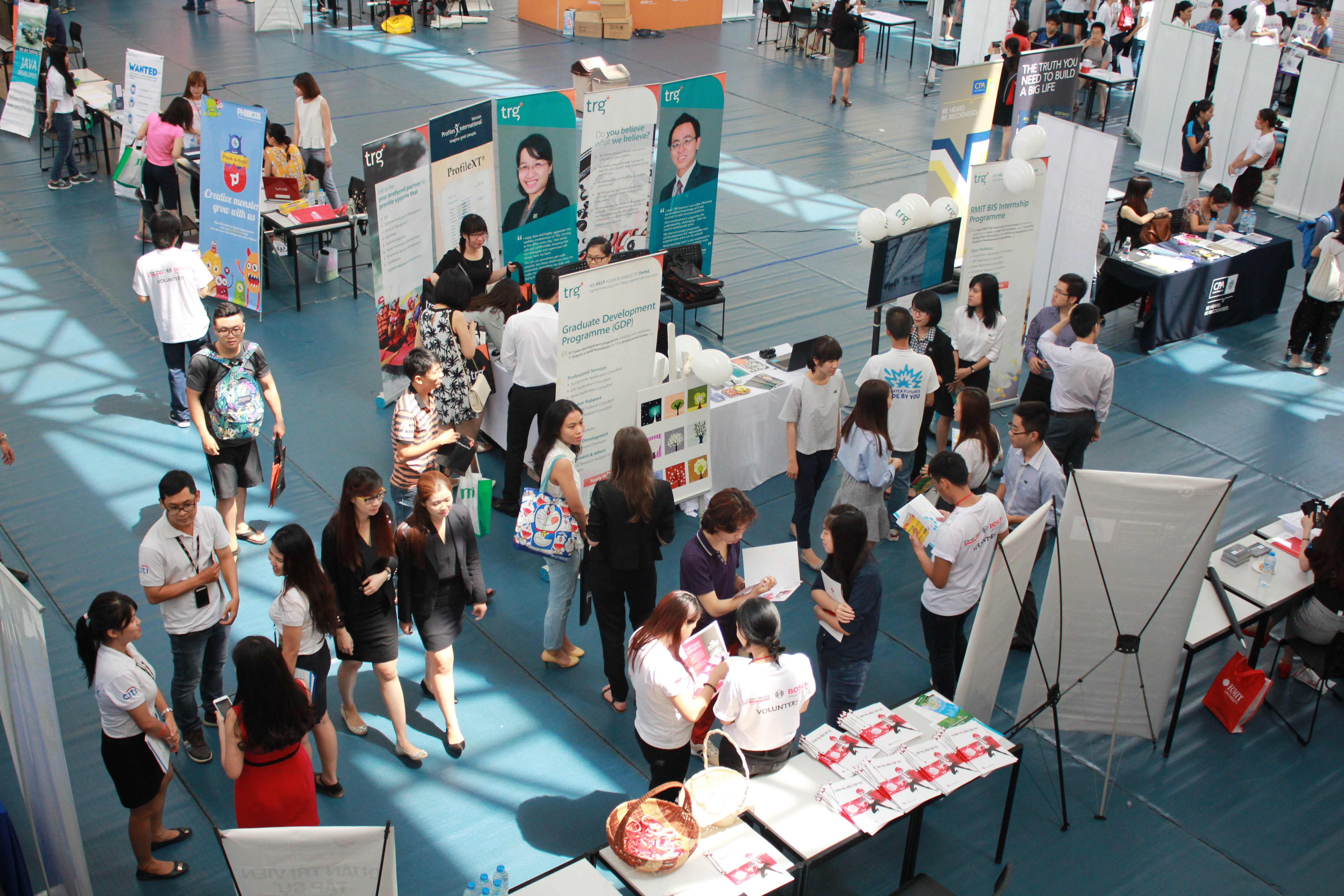 TRG International Booth at RMIT Career Expo 2015