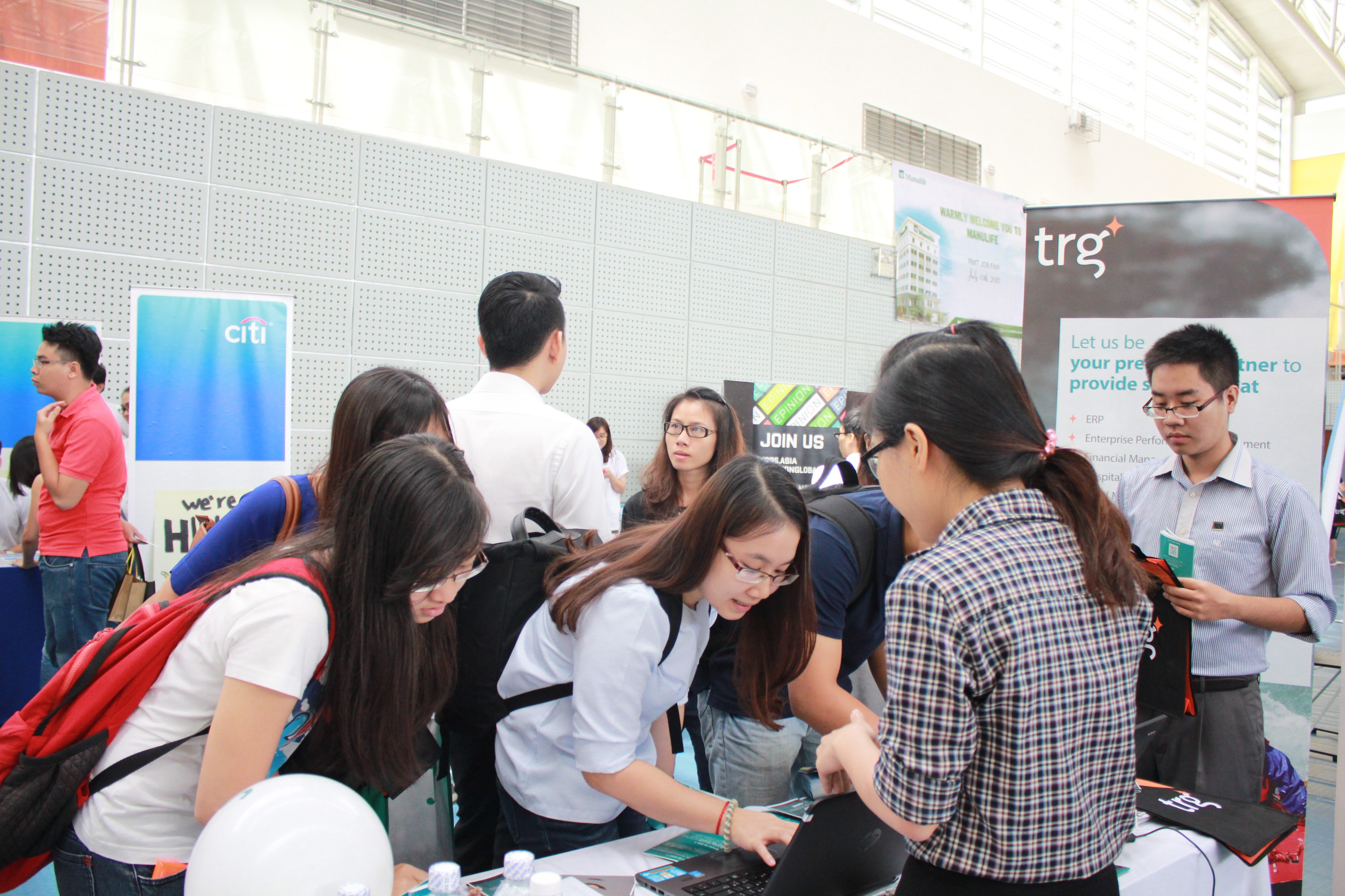 Students were giving information for future employment