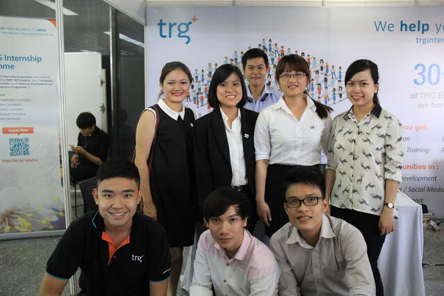 TRG-support-team-at-RMIT-Career-Expo.jpg