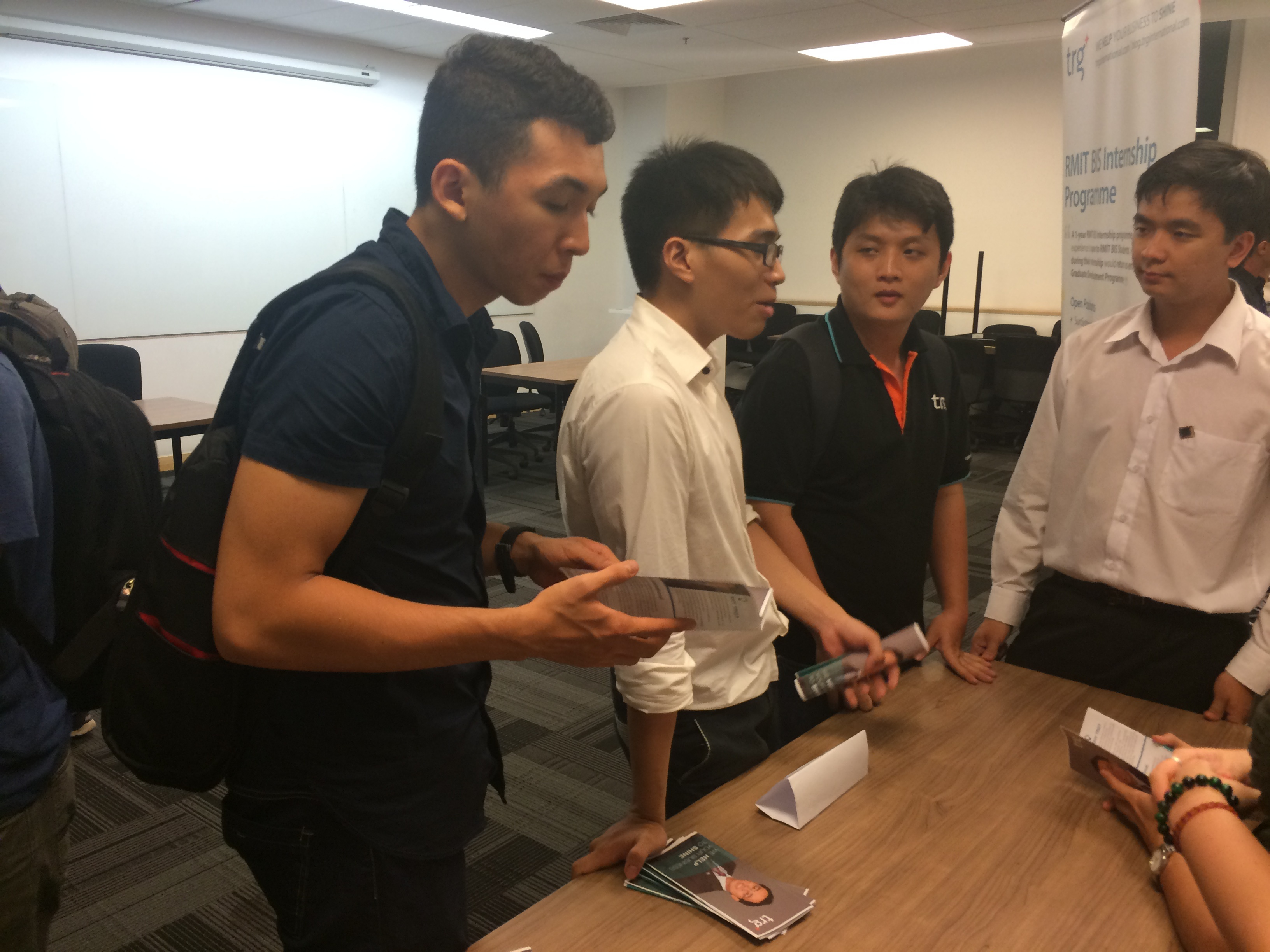 TRG-ERP-consultant-was-explaining-about-BIS-program-and-career-path-at-TRG