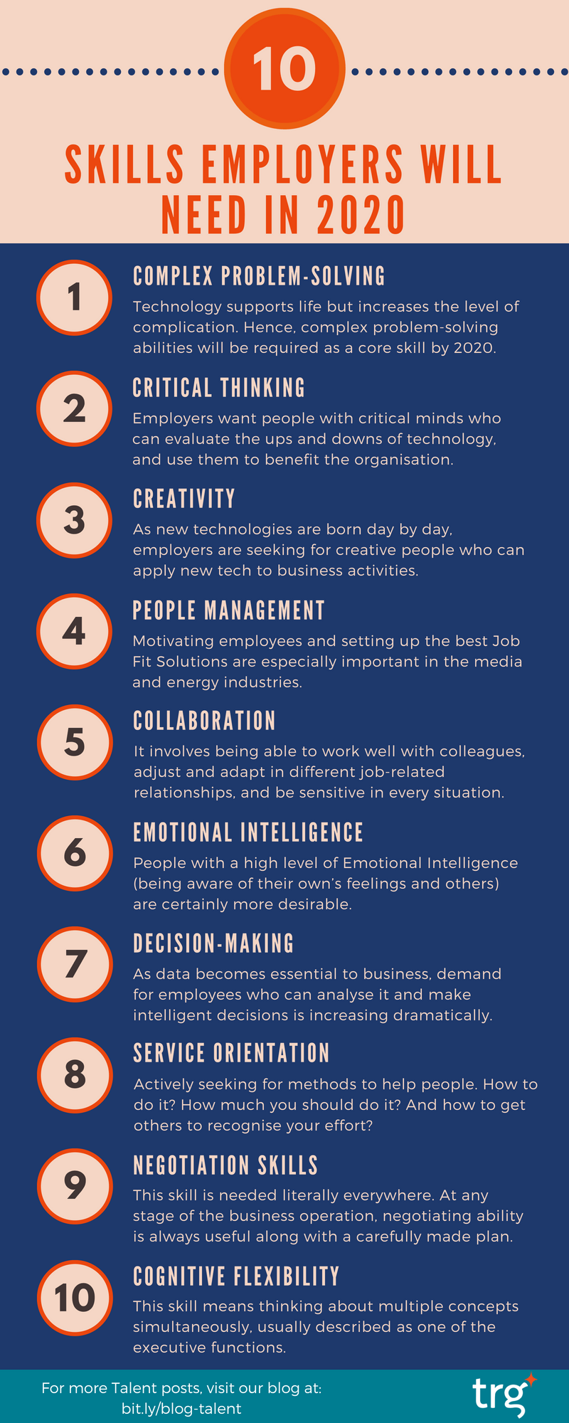 10 skills employers will need in 2020