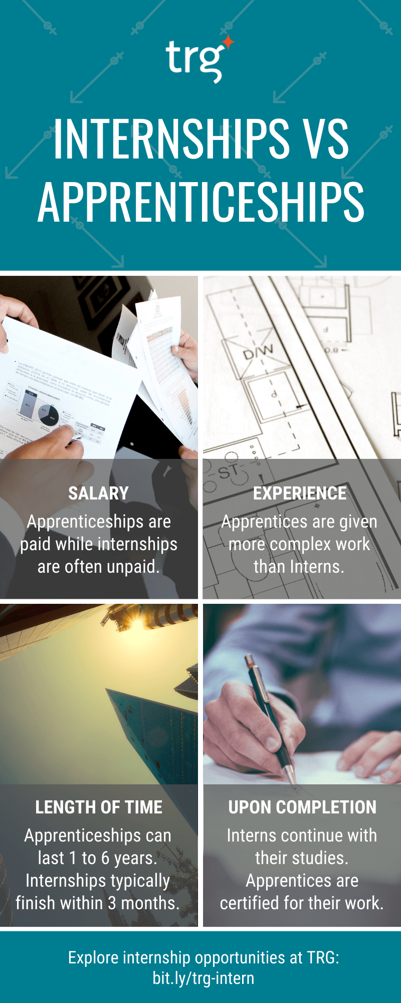 4 differences between internships and apprenticeships