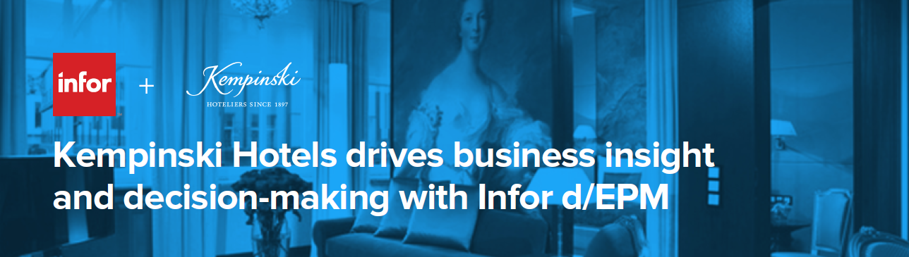 Cloud-based financial forecasting & reporting system for hotels – a success story