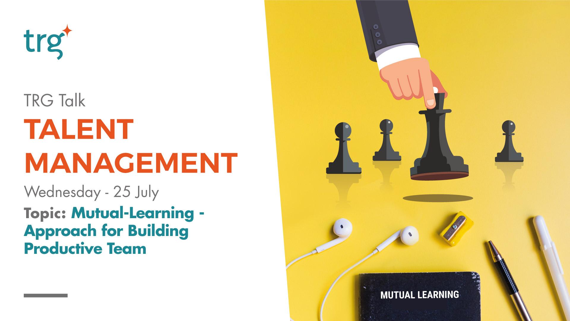 TRG Talk Talent management July 2018