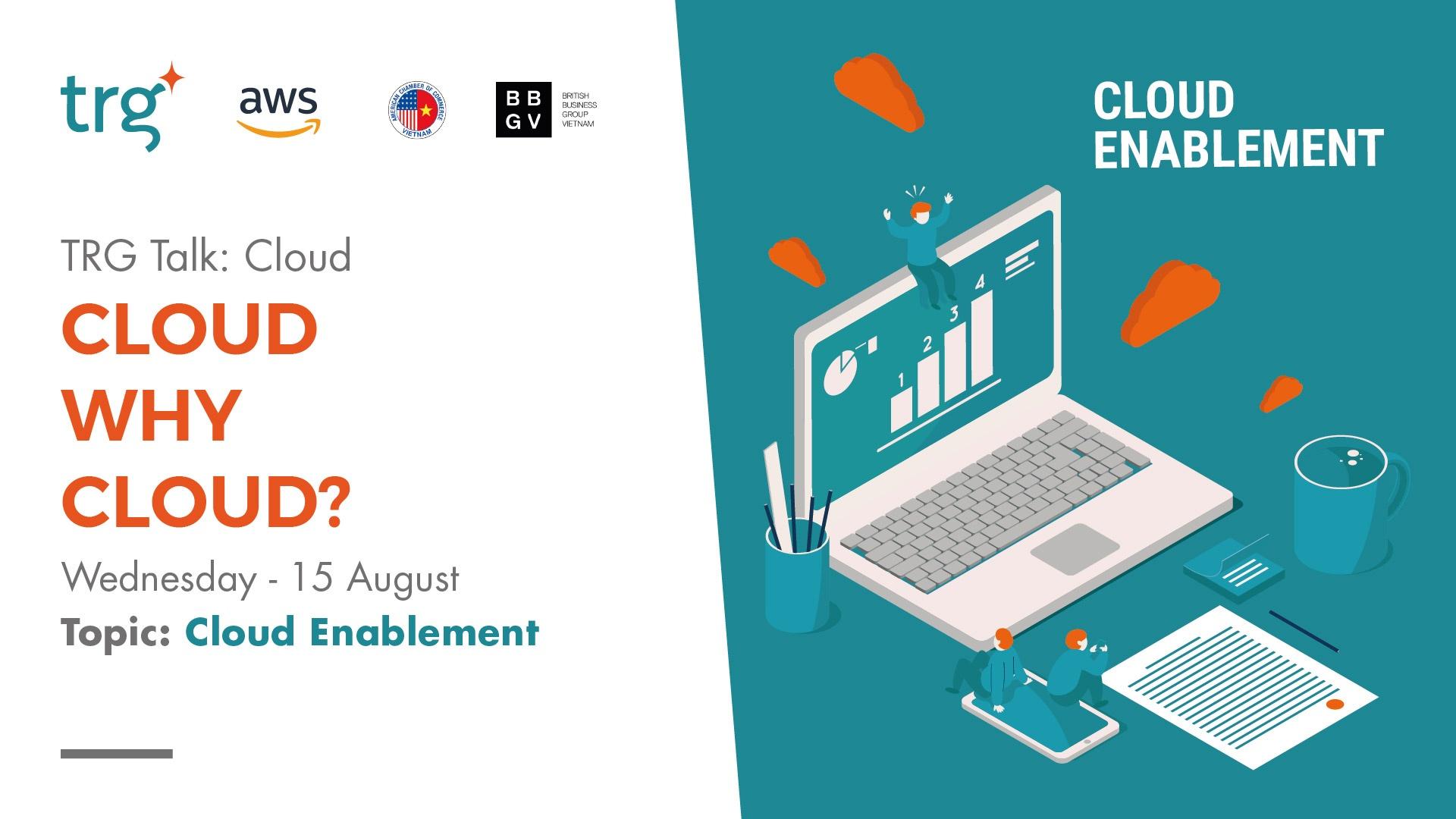 TRG Talk Cloud Aug 2018