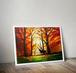 We paint - Autumn waves