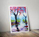 We paint - Peaceful nature
