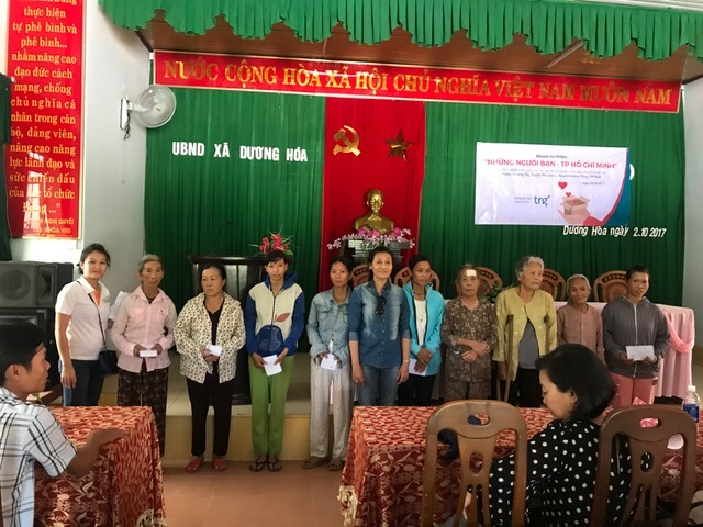 TRG charity trip to Hue