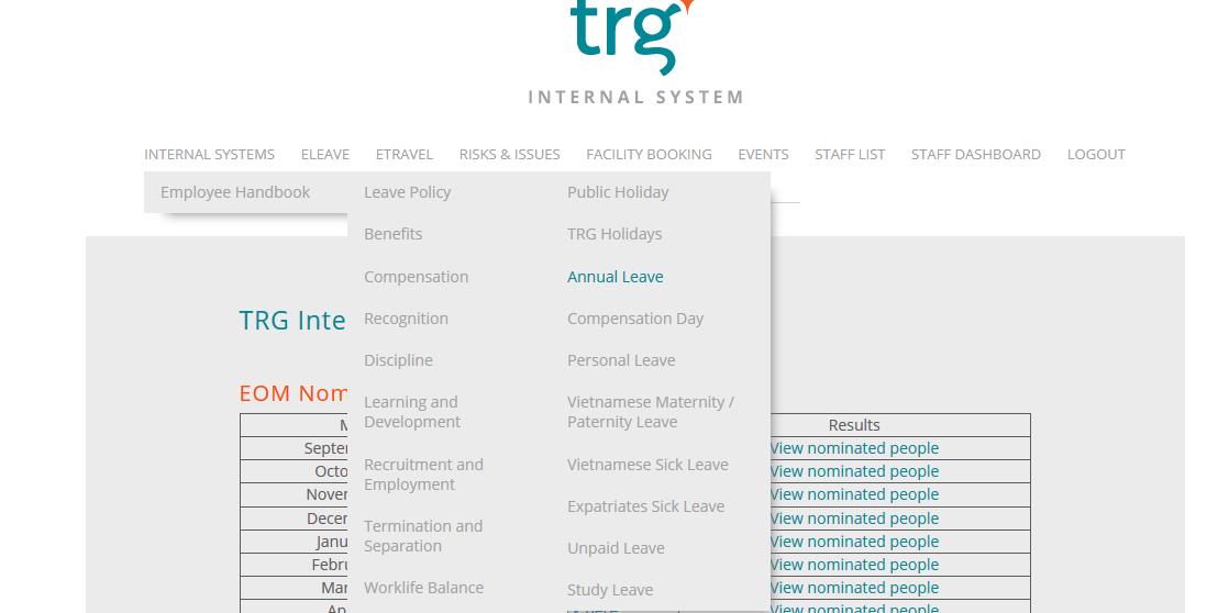 giao diện trang thông tin nội bộ của TRG.png