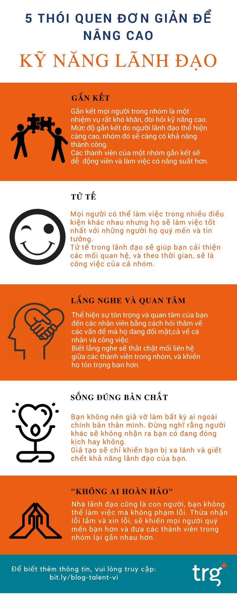 5 thói quen đơn giản để nâng cao kỹ năng lãnh đạo