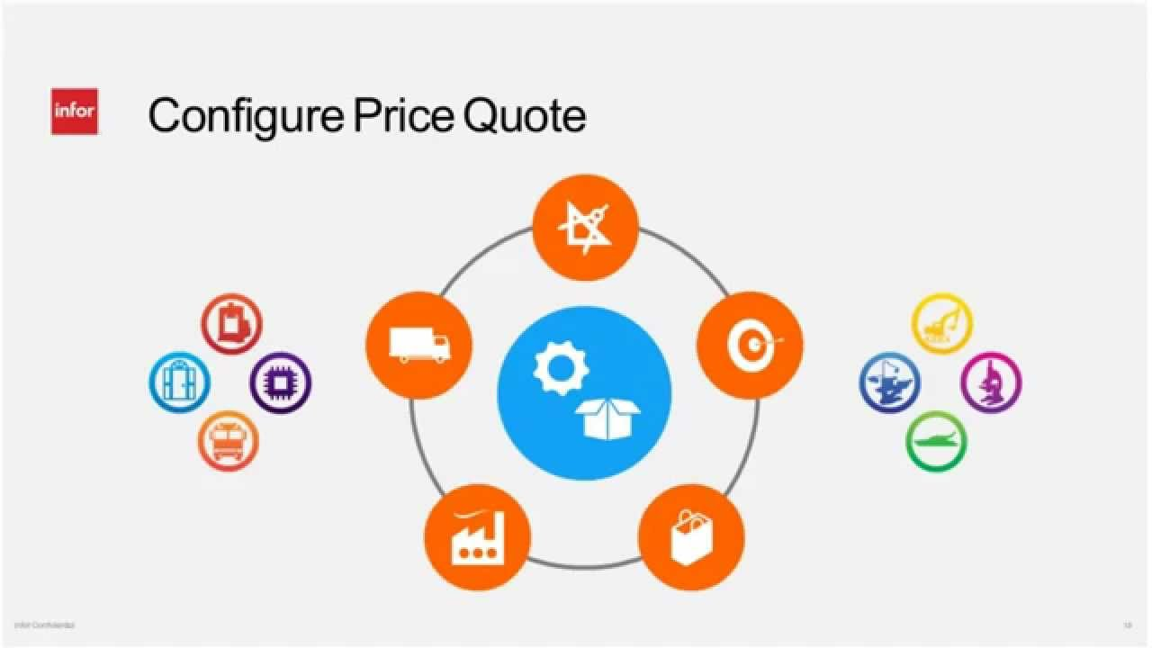 Giảm chi phí và tăng lợi nhuận với Infor CPQ