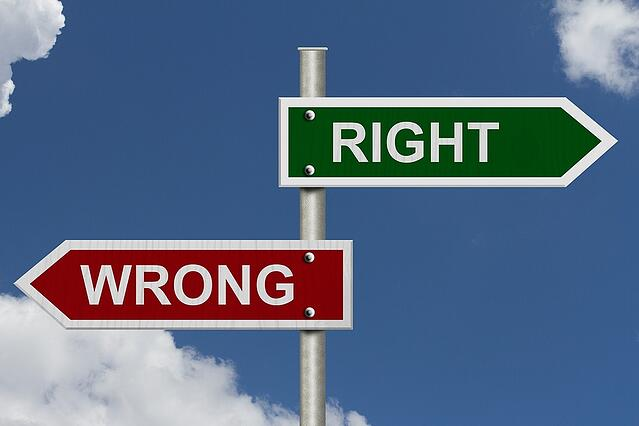 Do you have the fear of being wrong?