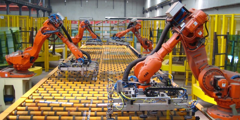 Smart factory is part of Industry 4.0