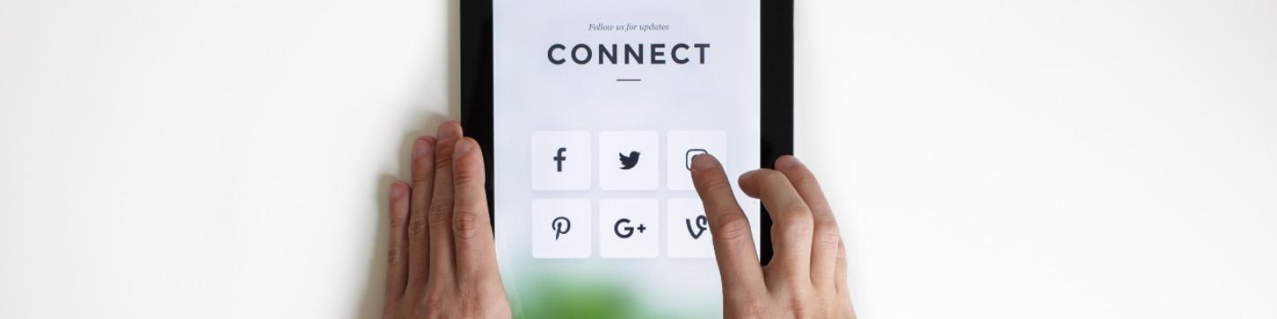 Discover company culture via social media