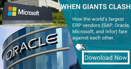 WHEN GIANTS CLASH | A Comparison of Tier 1 ERP Vendors