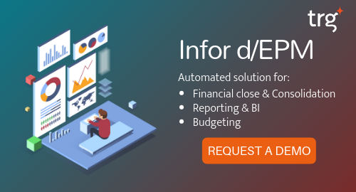 Request a demo for Infor dEPM