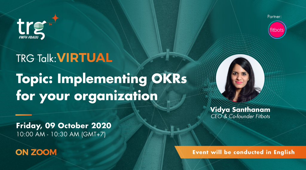 TRG Talk Virtual - Implementing OKRs for Your Organisation