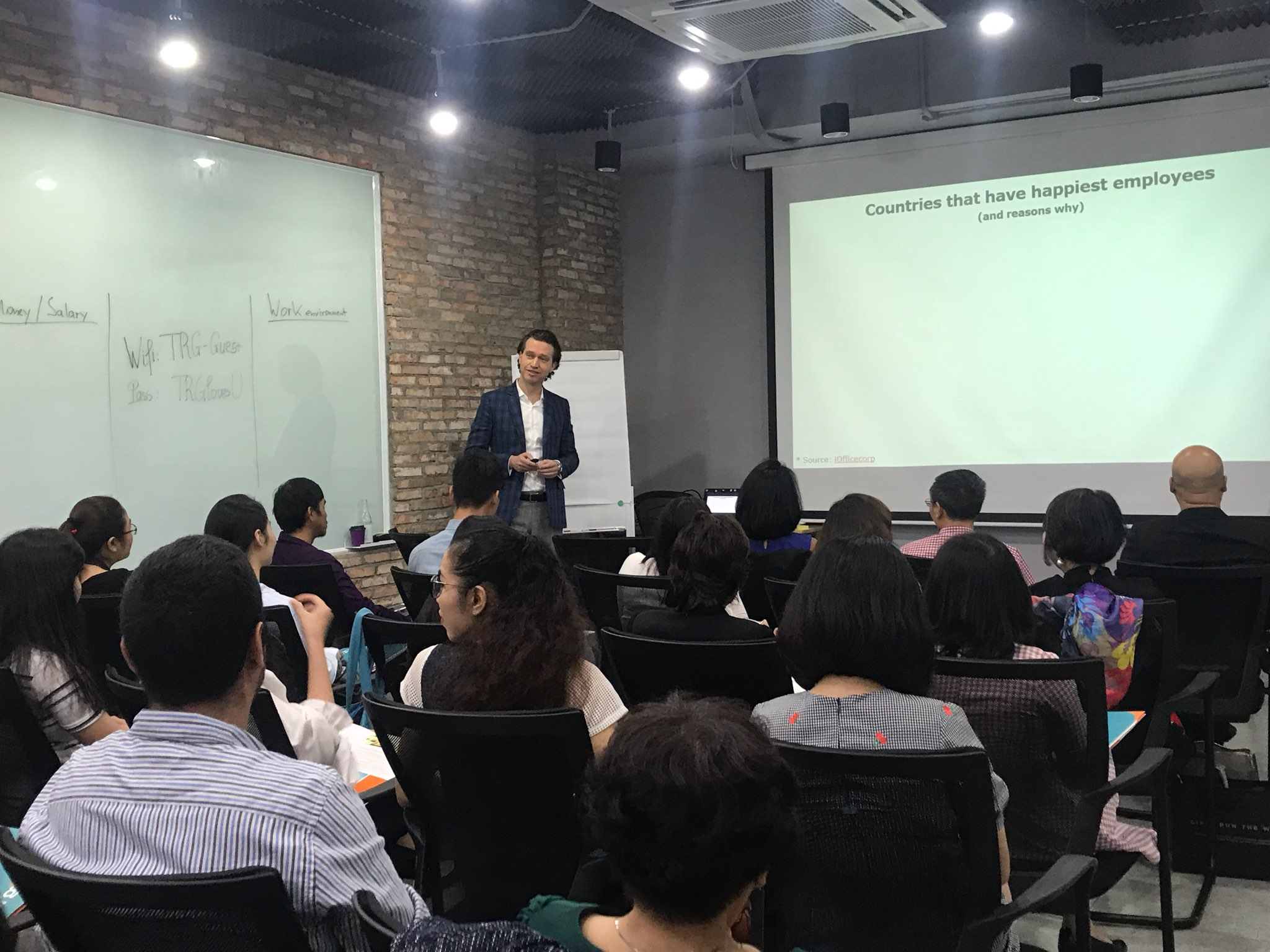 Highlights of TRG Talk: Talent - Employee Happiness for Business Growth