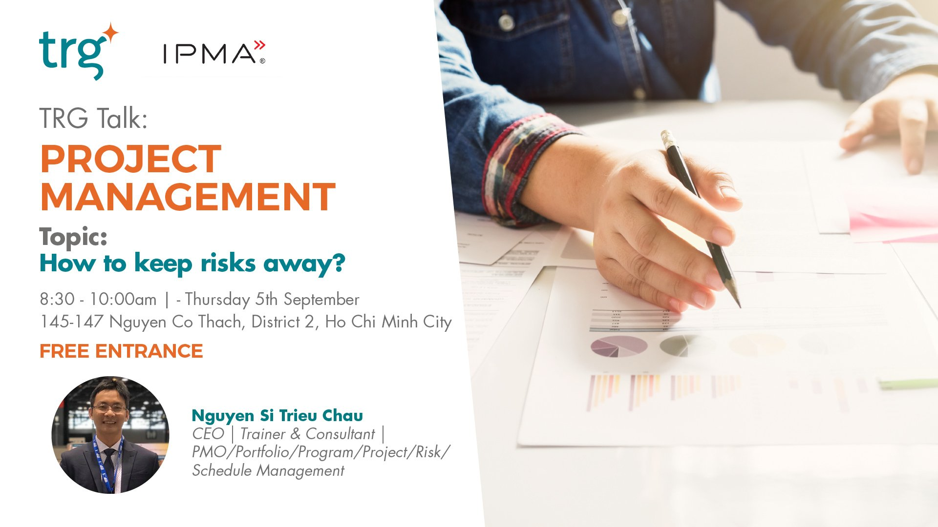 "Especially Release TRG Talk – Project Management: ""How To Keep Risks Away?"" Is Coming This September"