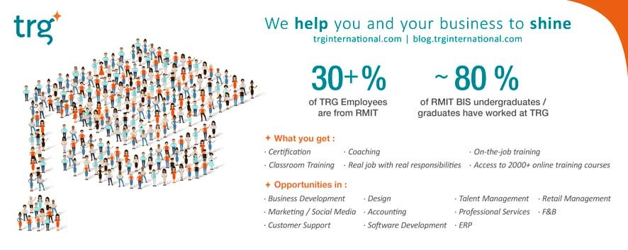 TRG provides strong career foundations for RMIT students