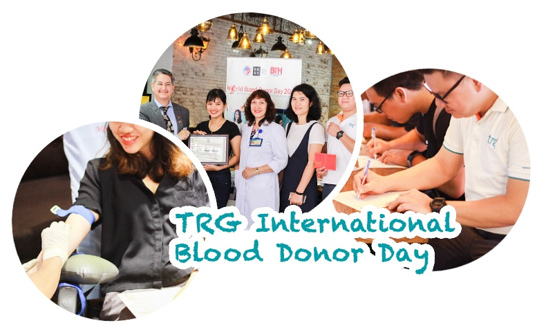 Making the most of World Blood Donor Day with TRG International